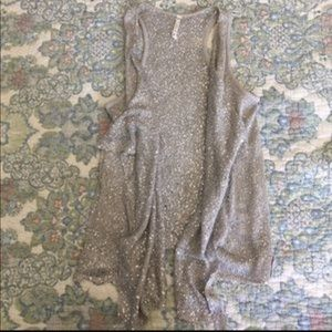 Willow & Clay Tops - Willow and Clay Sequin Drape-y Vest