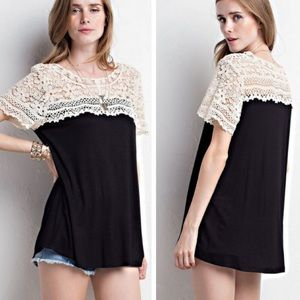 •lace tunic•