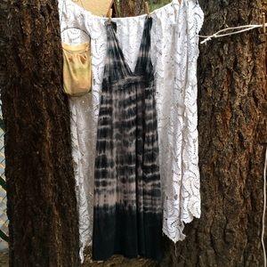 Gypsy 05 Dresses & Skirts - Gypsy 05 organic cotton tie-dyed maxi dress