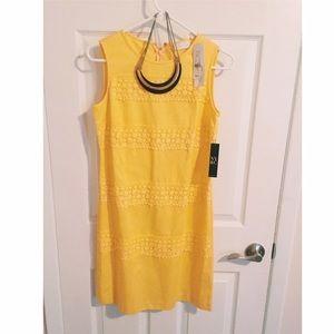 NYC Yellow Dress