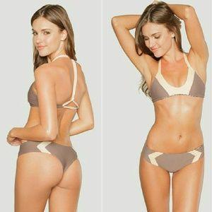 New acacia fig naked biarritz bikini top P swimwea