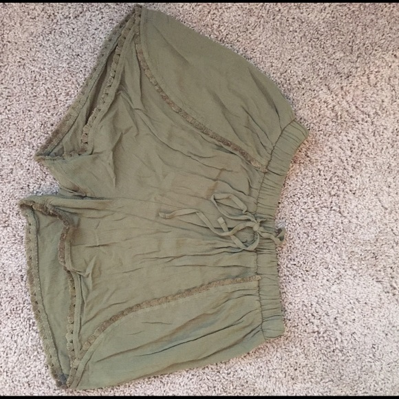 50% off Mossimo Supply Co. Pants - Green flowy shorts from ...