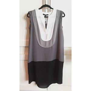 BCBG colorblocked dress. Size Medium