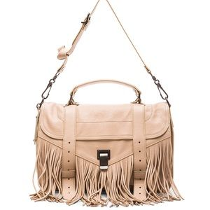 Proenza Schouler PS1 Medium Fringe Satchel Bag