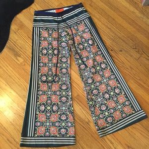 Clover Canyon Patterned Silk Pants - XS