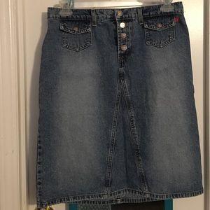 Hot Kiss Dresses & Skirts - Denim skirt