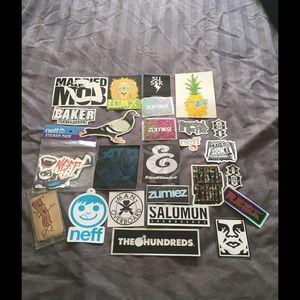 Neff Other - Skate Sticker Bundle