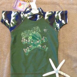 2Chillies Other - UPF Sun Protection Rash Guard Swim Shirt