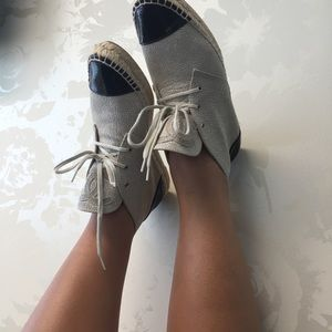 Chanel High Top Espadrilles (size 40)