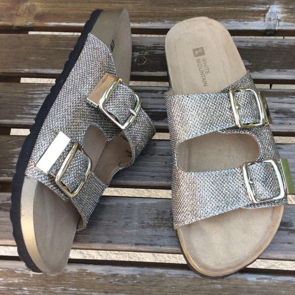 Shoes   Glitter Sandals   Poshmark