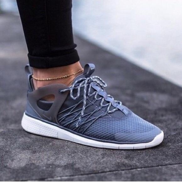 0eee141999bf Women s Nike Free Viritous Grey Running Shoes