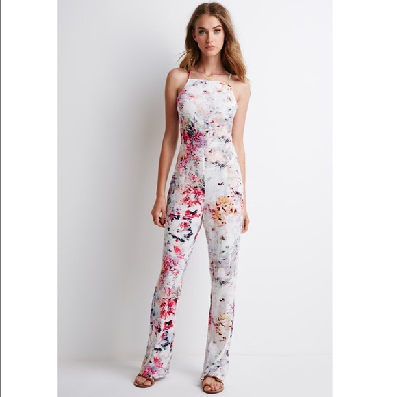 clearance prices limited quantity large discount 🍥🐬Abstract Print Pastel Jumpsuit 🐬🍥