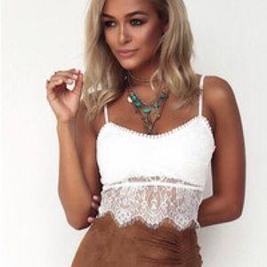 Sabo Skirt Crop Top