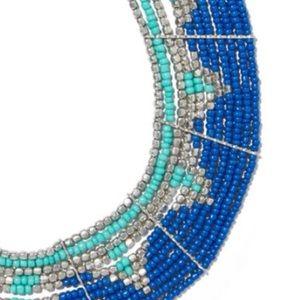 Jewelry - BEADED MULTI-ROW STATEMENT NECKLACE