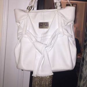 bebe Handbags - Mint condition white BeBe handbag