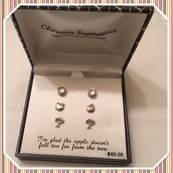 Charming Inspirations Earrings Swarovski Crystals
