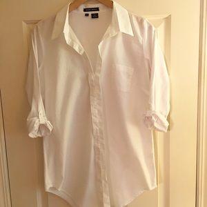 Sandra Ingrish Tops - Sandra Ingrish Hidden Button Front Tunic