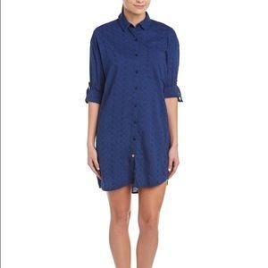 Ganesh Dresses & Skirts - BNWT - Ganesh Shirt Dress - Navy - Size 0