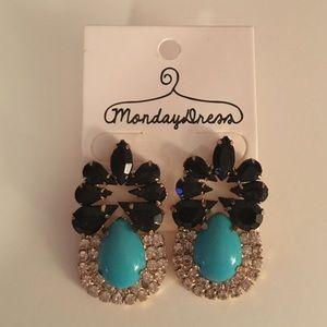 Brand new statement earrings