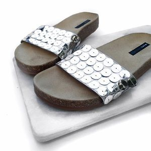 Marc Jacobs Shoes - Marc Jacobs sequin leather slides