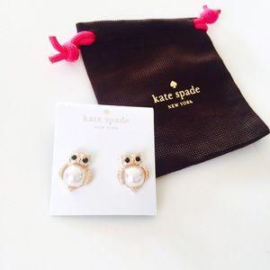 kate spade Jewelry - ❗️ALMOST GONE❗️Kate Spade little owl stud earrings