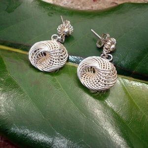 Jewelry - Sterling silver pierced earrings