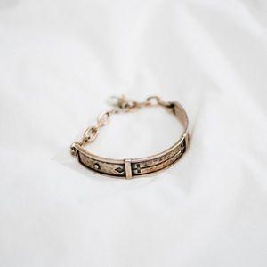 Wesc Jewelry - WESC x BING BANG DOUBLE CROSS BAR BRACELET