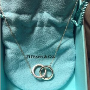 Tiffany & Co. Double Ring Necklace