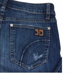 Joe's Jeans Denim - Joe's Muse Distressed Bootcut Jeans