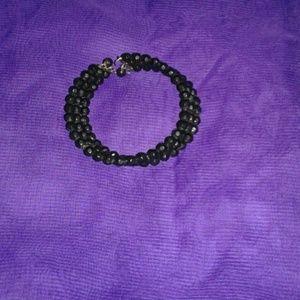 Jewelry - Onyx like beaded bracelet
