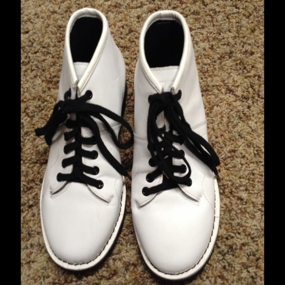 T.U.K Shoes | Tuk White Monkey Boot