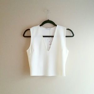 SOLD - NWT Zara Crop Top - Size S