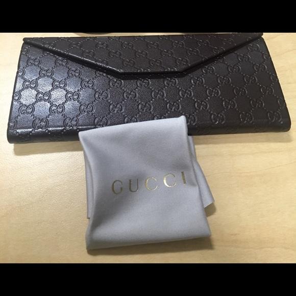 new product 08b13 2d8df Gucci Folding Eyeglass Case