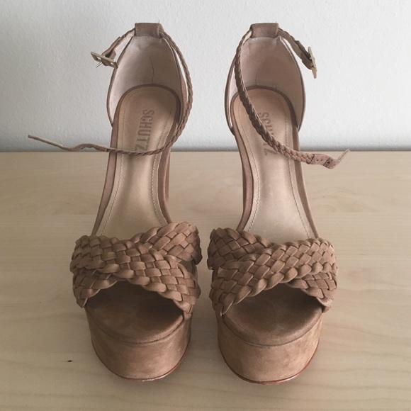 be8ee8c40b70 Schutz platform sandal