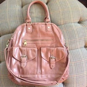 Salmon STEVE MADDEN Very Large Satchel