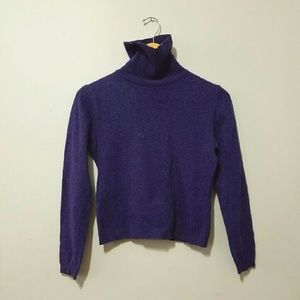 United colors of benetton wool cropped sweater
