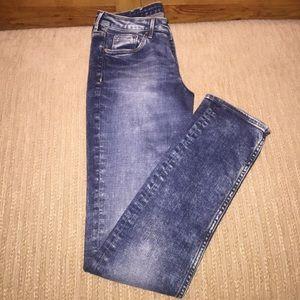 Denim skinny jeans never worn