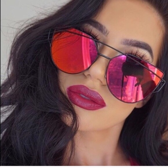 c24ddace66 Accessories - Red tint Mirrored Sunglasses