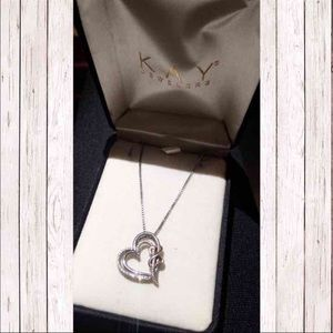 Kay Jewelers Jewelry - Kay jewelers open heart necklace