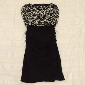 NWOT Maggy London Black/White Dress