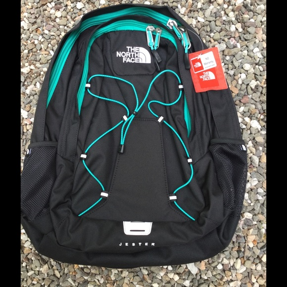 38aba12d26b3 North face women's jester backpack black blue new NWT