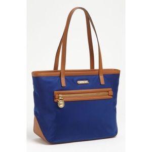Michael Kors Handbags - Michael Kors Kempton Royal Blue Tote