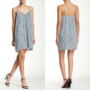 Nordstrom Dresses & Skirts - ☀️ Teal Chiffon Print Cami Slip Dress