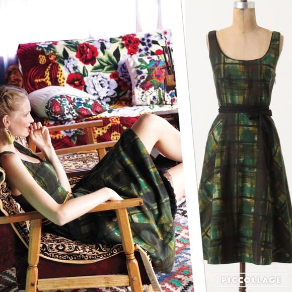 27d233dc8def Anthropologie Dresses & Skirts - EUC Anthropologie Maeve Painted Plaid Dress  ...