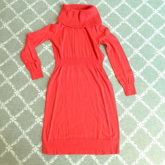 55% off Old Navy Dresses & Skirts - Old Navy Orange Sweater Dress ...