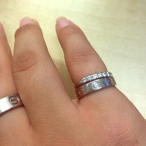 cartier ring size 48 conversion