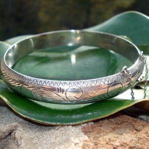 Vintage 925 Sterling Silver Bracelet.