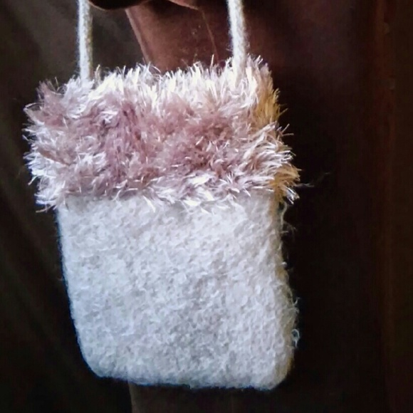 Vintage Bags - 8.5x11 FELTED Wool Bag