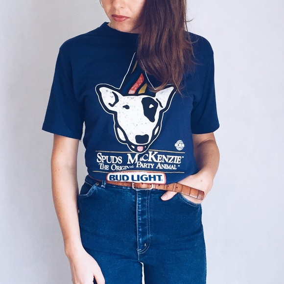 Spuds MacKenzie Bud Light Party Shirt