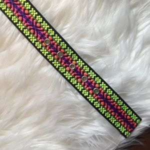 Justice Other - Justice neon stitch belt